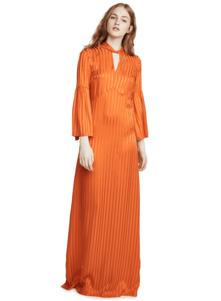 Julie Fagerholt Hylin - Orange - size 34 - NO RETURN