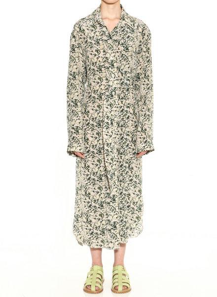 Nanushka Mona dress - Green