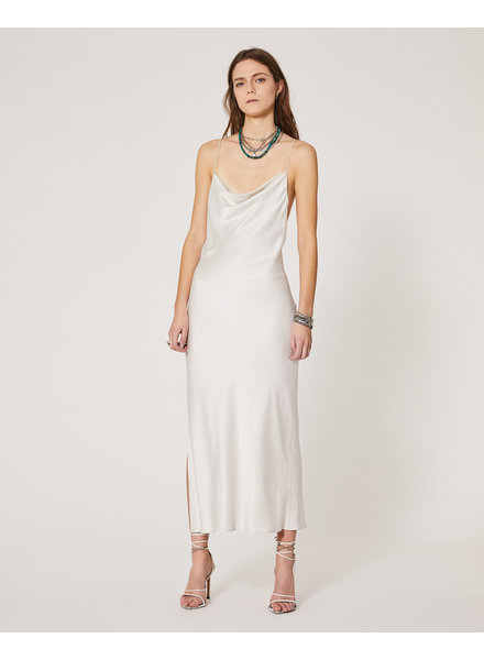 Iro Sugito Dress - Cloudy White - size 40