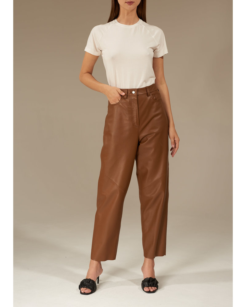 Le Brand Baggy pants - Toffee