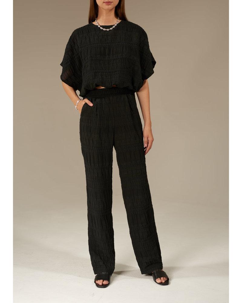 Le Brand Cotton Classic pants - Black