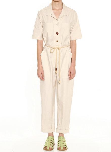 Nanushka Zuni jumpsuit - Off - White - size M