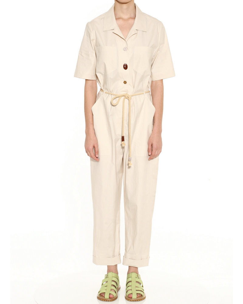 Nanushka Zuni jumpsuit - Off - White