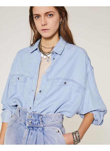 Iro Faelle shirt - Denim Blue