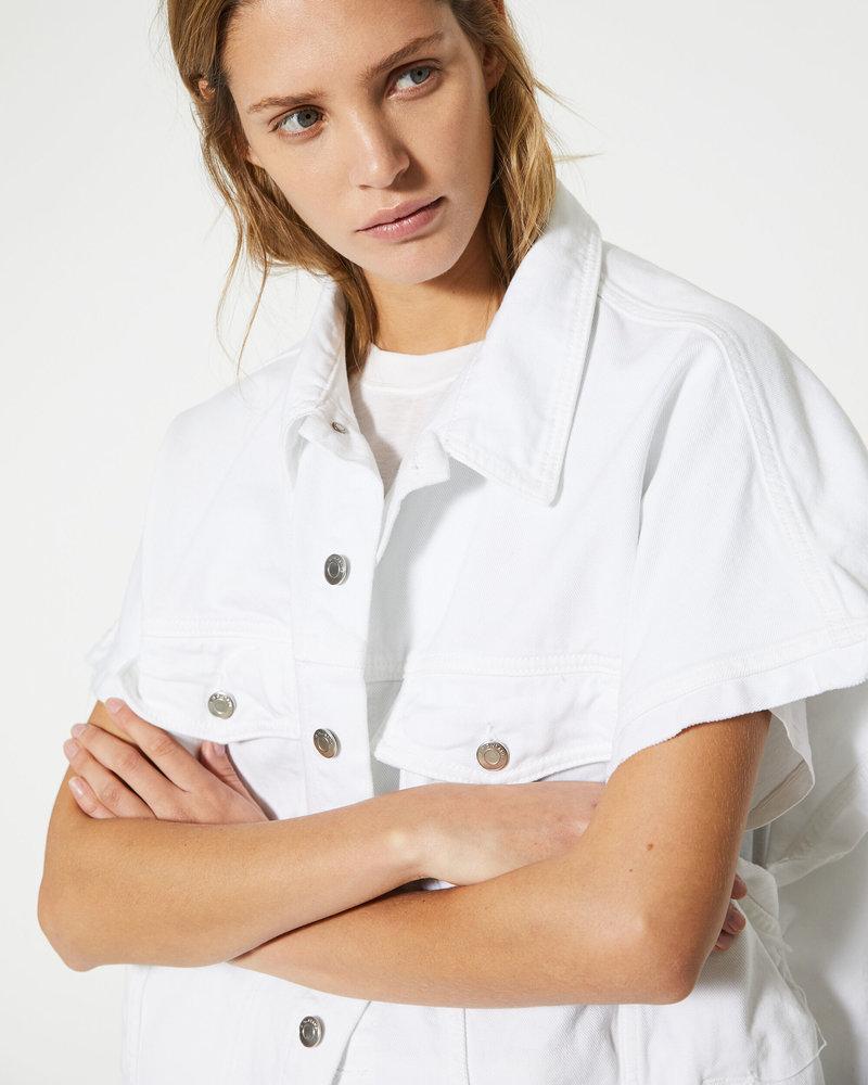 Iro Rungis Jacket - White