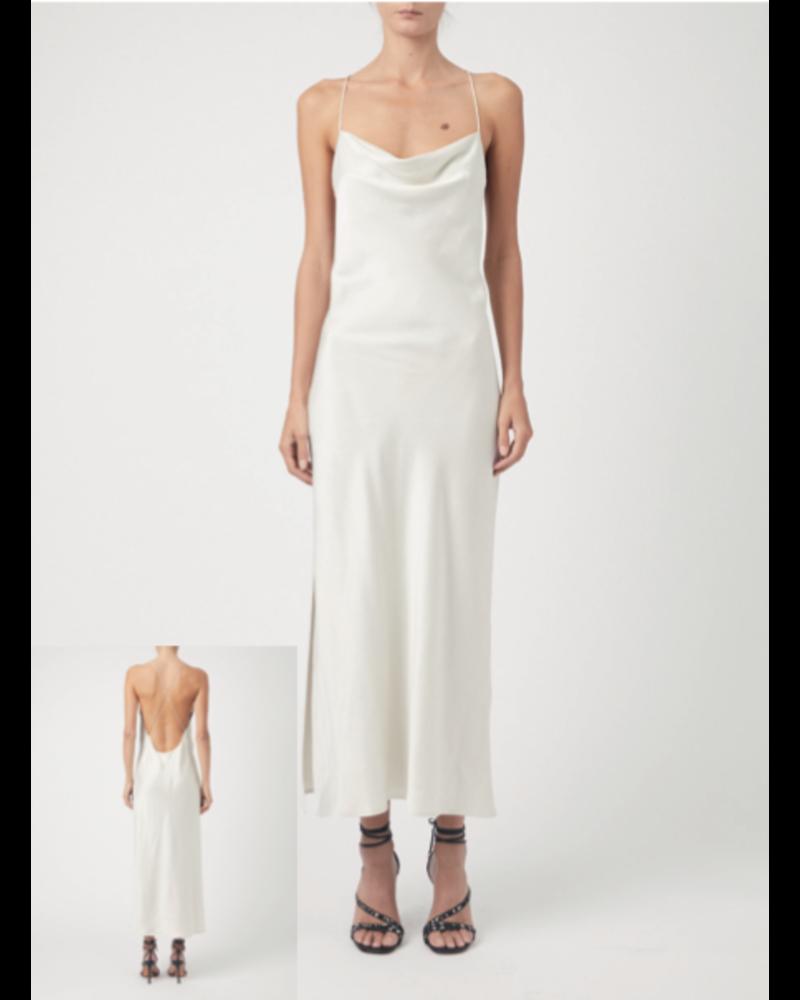 Iro Sugito Dress - Cloudy White