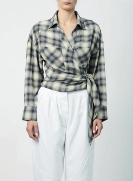 Iro Camde shirt - Mixed Grey