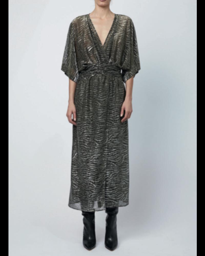Iro Volsun dress - Dark Grey