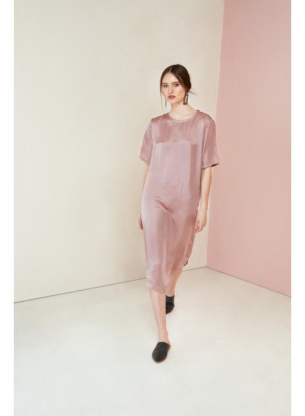Magali Pascal Sakura Dress - Mauve