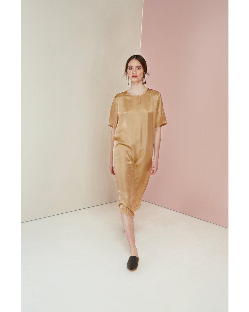 Magali Pascal Sakura Dress - Gold