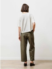 Priory Pleat trouser - Jalapeno