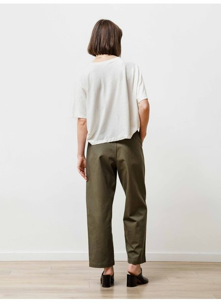 Priory Pleat trouser - Jalapeno