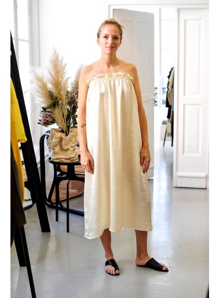 Priory Tube dress - Cream