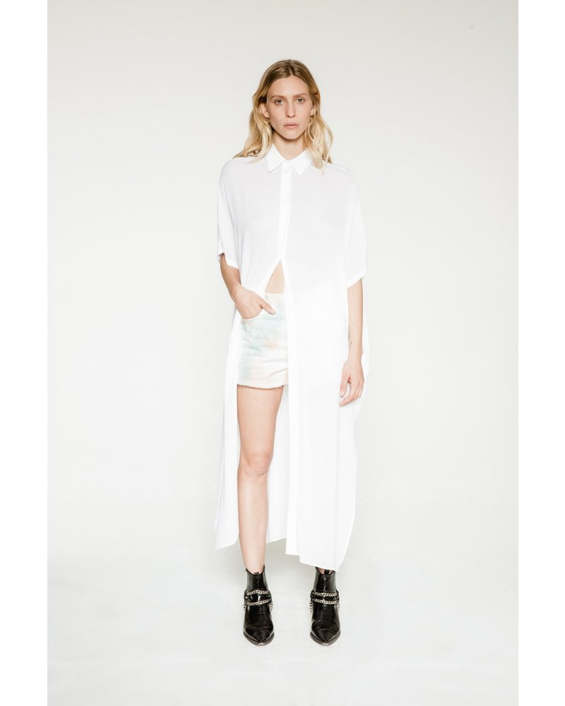 Margaux Lonnberg Freja robe - White