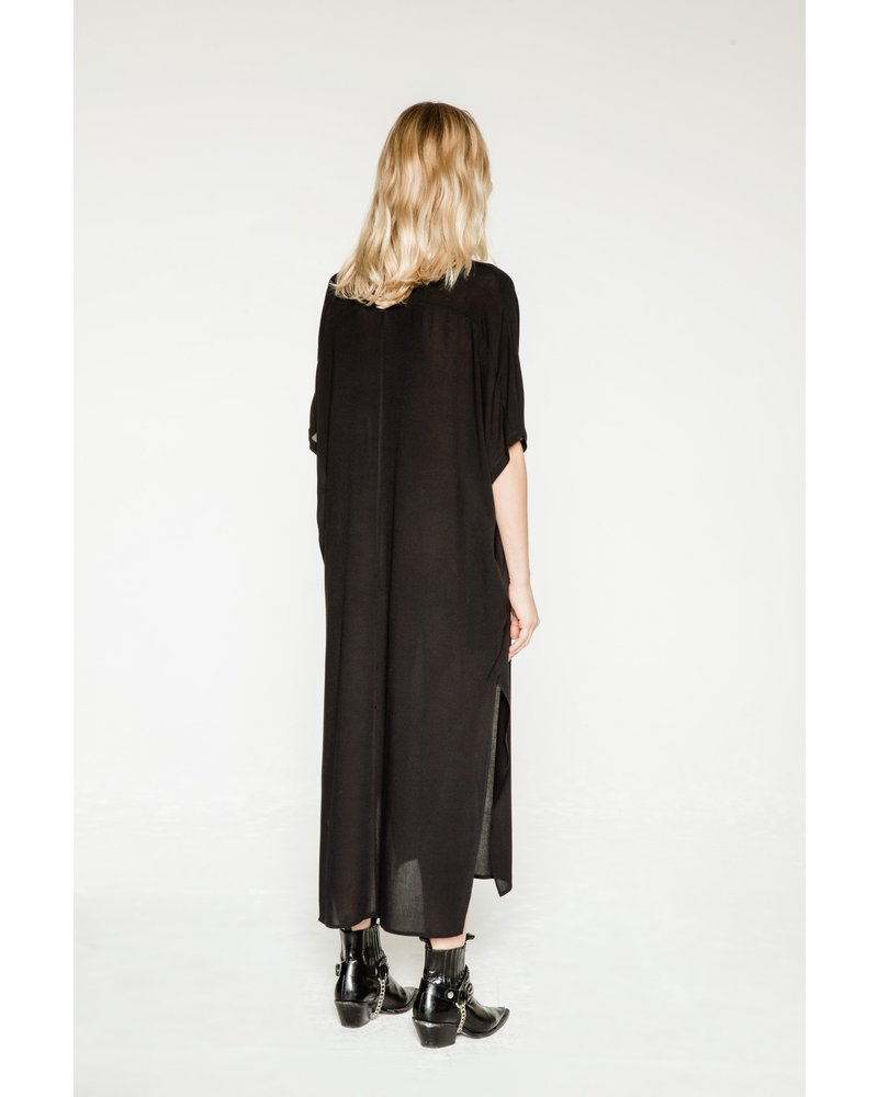 Margaux Lonnberg Freja robe - Black