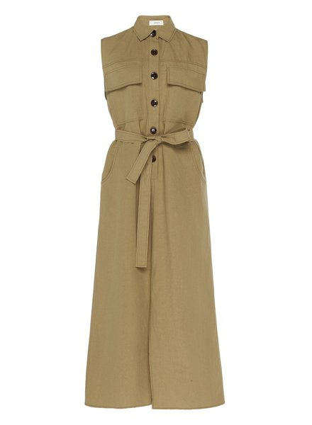 Aeron Sherry dress - Taupe - size 34, 42