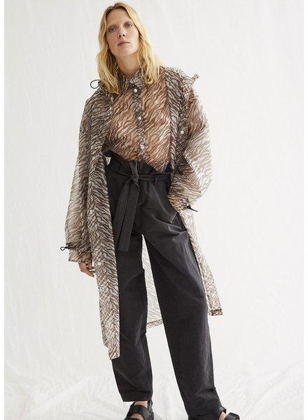 Aeron Imogene coat - Dark Sand - size S