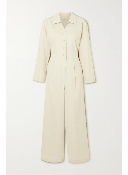 Le 17 Septembre Vneck jumpsuit - Ivory - size 38 & 40