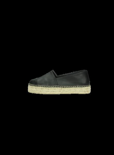 N°8 Antwerp Leather creeper - Negro - size 39 & 41