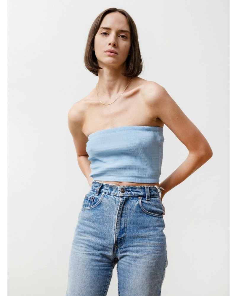 Priory Tube top - Baby Blue