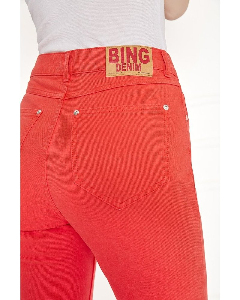 Anine Bing Frida jeans - Red - size 25