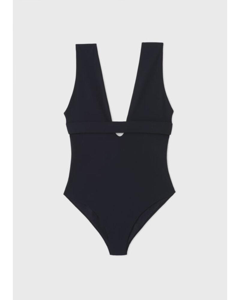Totême Brenta swimsuit - Black
