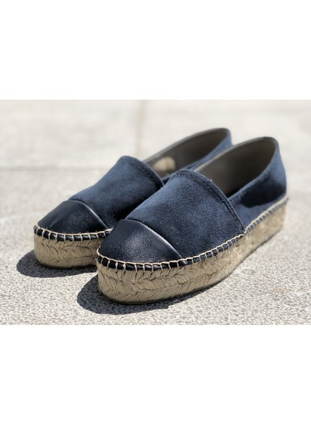 N°8 Antwerp Suede creeper - Navy