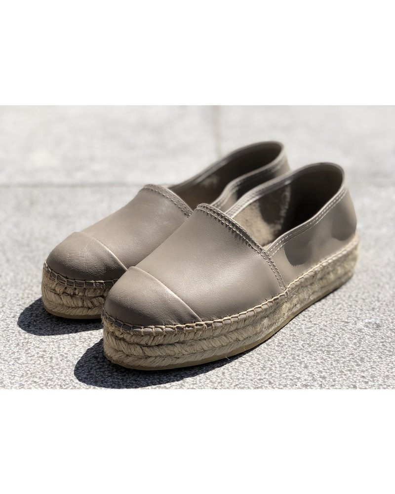N°8 Antwerp Leather creeper - Taupe