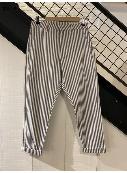 Hope News Trouser - Grey Stripe - NO RETURN