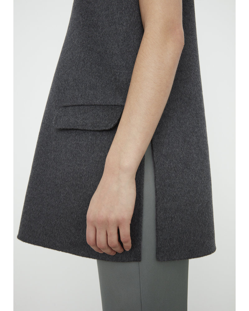 Totême Alcoba vest - Grey Melange