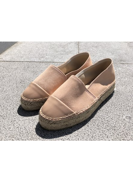 N°8 Antwerp Suede creeper - Peach