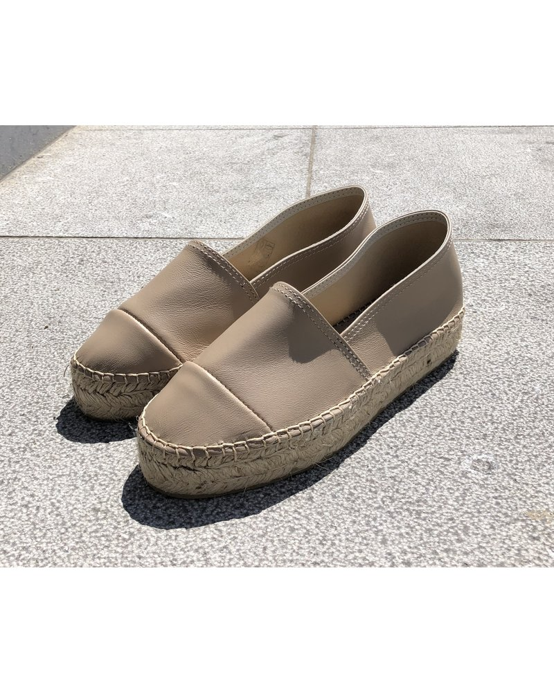 N°8 Antwerp Leather creeper - Camello