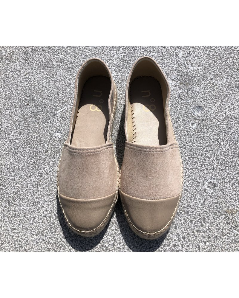 N°8 Antwerp Suede creeper - Camello