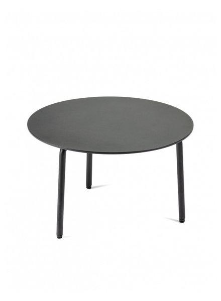 Vincent Van Duysen Bijzettafel August L L50xB50xH30 cm - Zwart