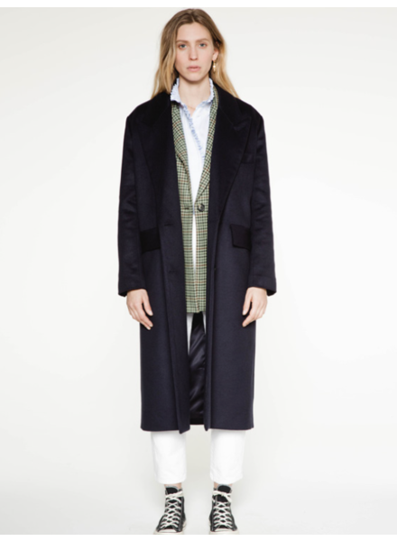 Margaux Lonnberg Berry coat - Navy