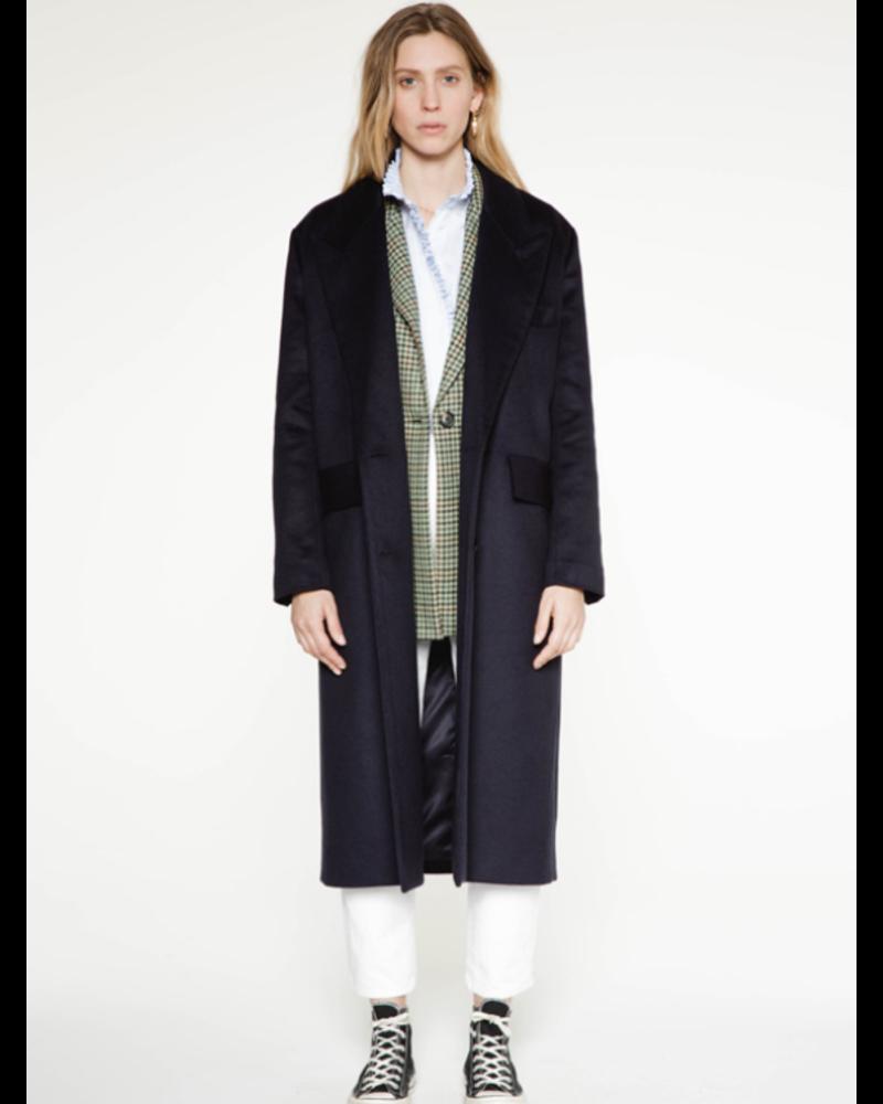 Margaux Lonnberg Berry coat - Navy