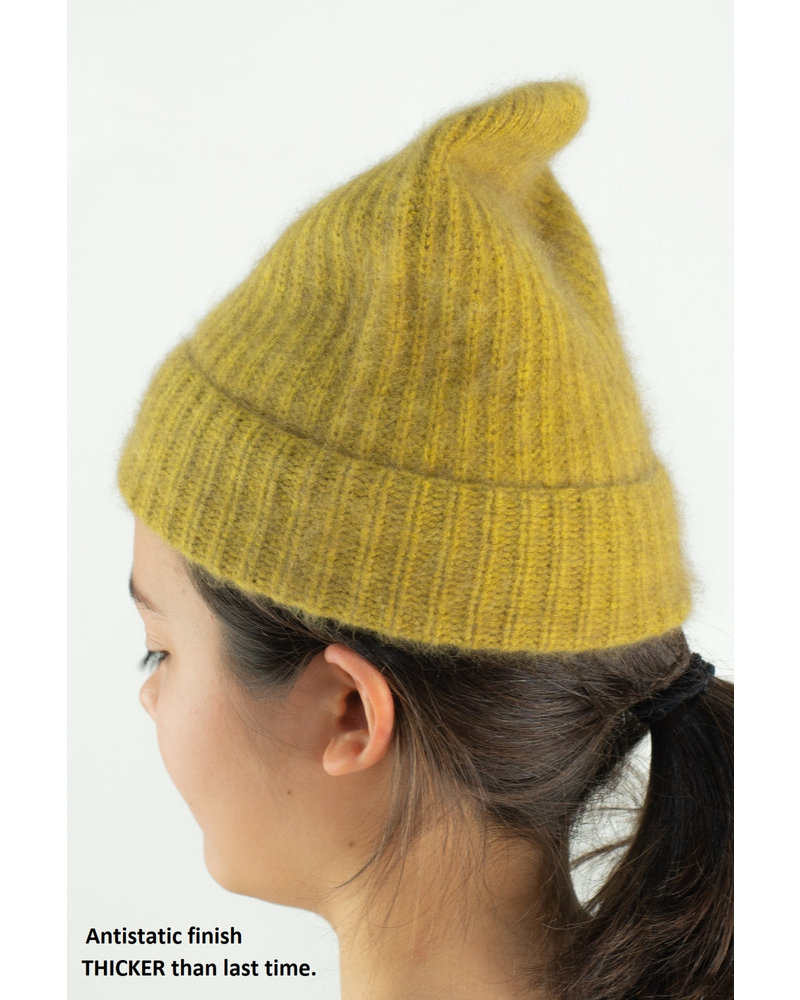 CT Plage Raccoon beanie - Yellow