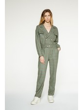 Margaux Lonnberg Ridley jumpsuit - Green Check