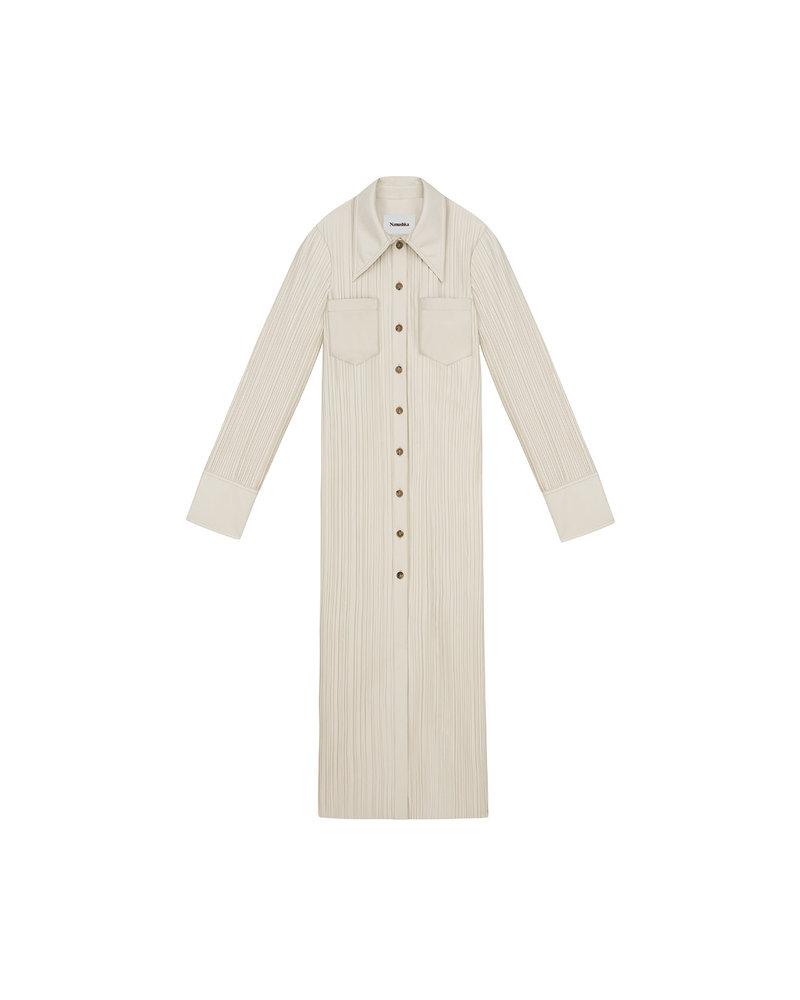 Nanushka Lee dress - Creme