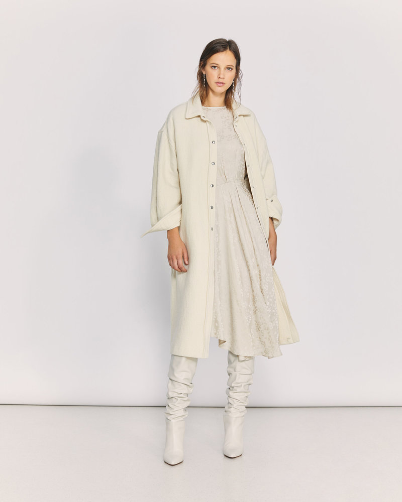 Iro Kizzu coat - Ecru
