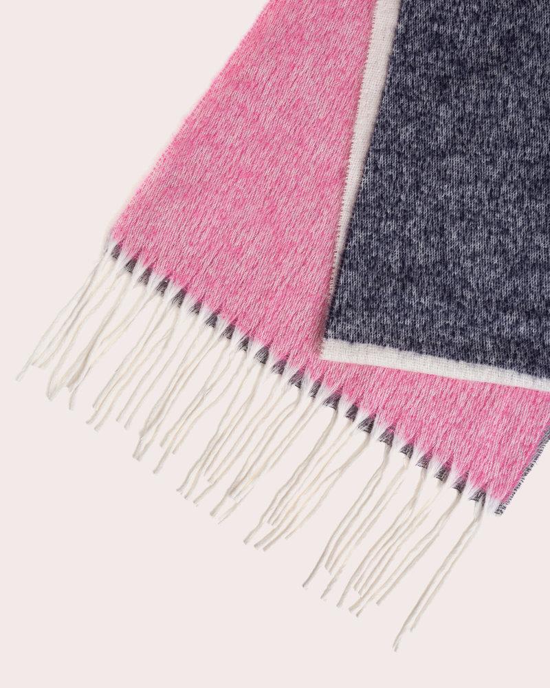 Iro Josi scarf - Pink / Grey