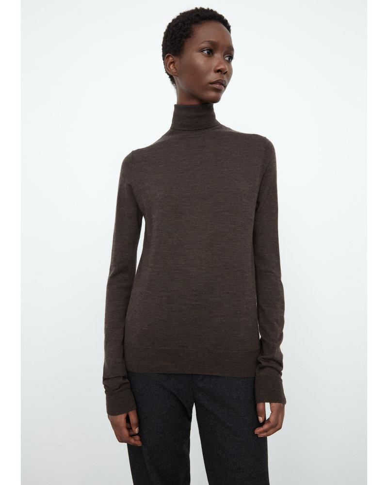 Totême Zoza sweater - Dark Brown