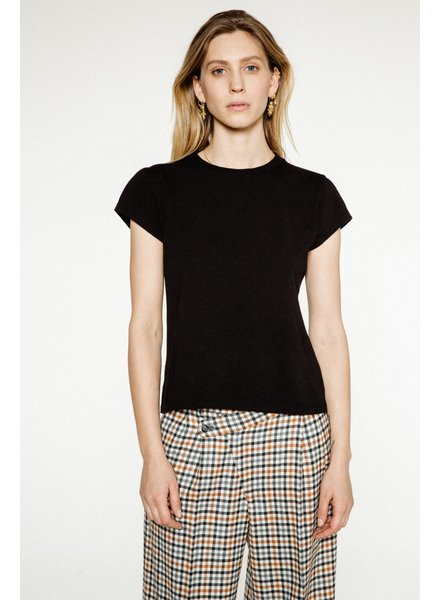 Margaux Lonnberg Spike tee - Black