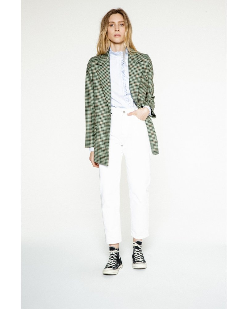 Margaux Lonnberg Norton Jacket - Green Check