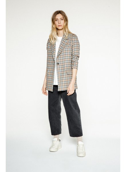 Margaux Lonnberg Norton Jacket - Off white Check
