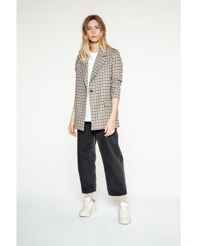 Margaux Lonnberg Norton Jacket - Off white Check