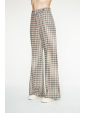 Margaux Lonnberg Clark pants - Off white check