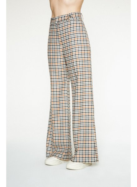 Margaux Lonnberg Clark pants - Off white check