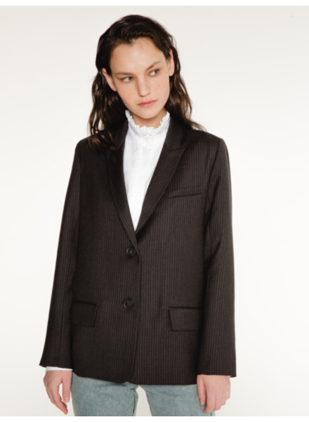 Margaux Lonnberg Forman blazer - Grey stripes