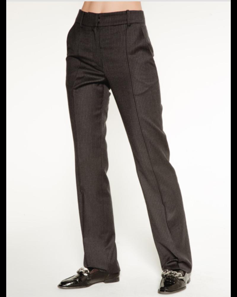 Margaux Lonnberg Marcel pants - Grey stripes
